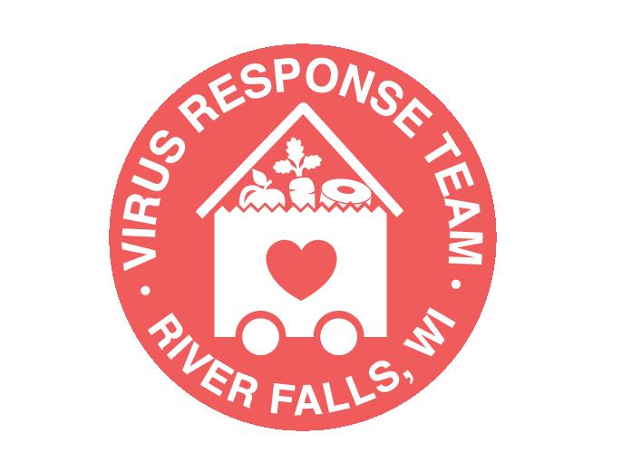 River Falls Virus Response Logo